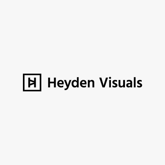 Logotype Heyden Visuals