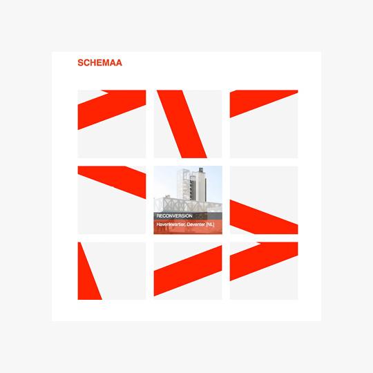 Page d'accueil du site Web de Schemaa architectes