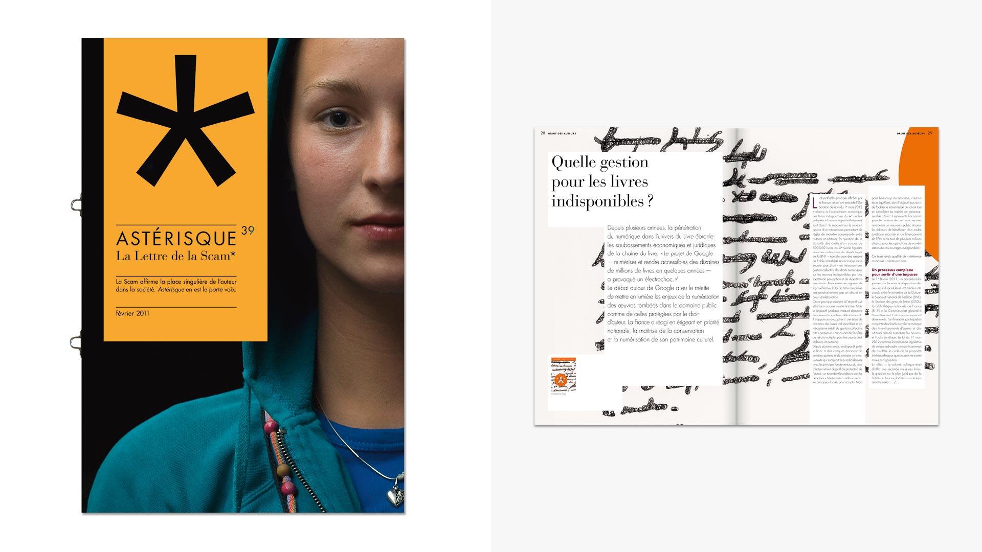 Couverture et double page intérieure