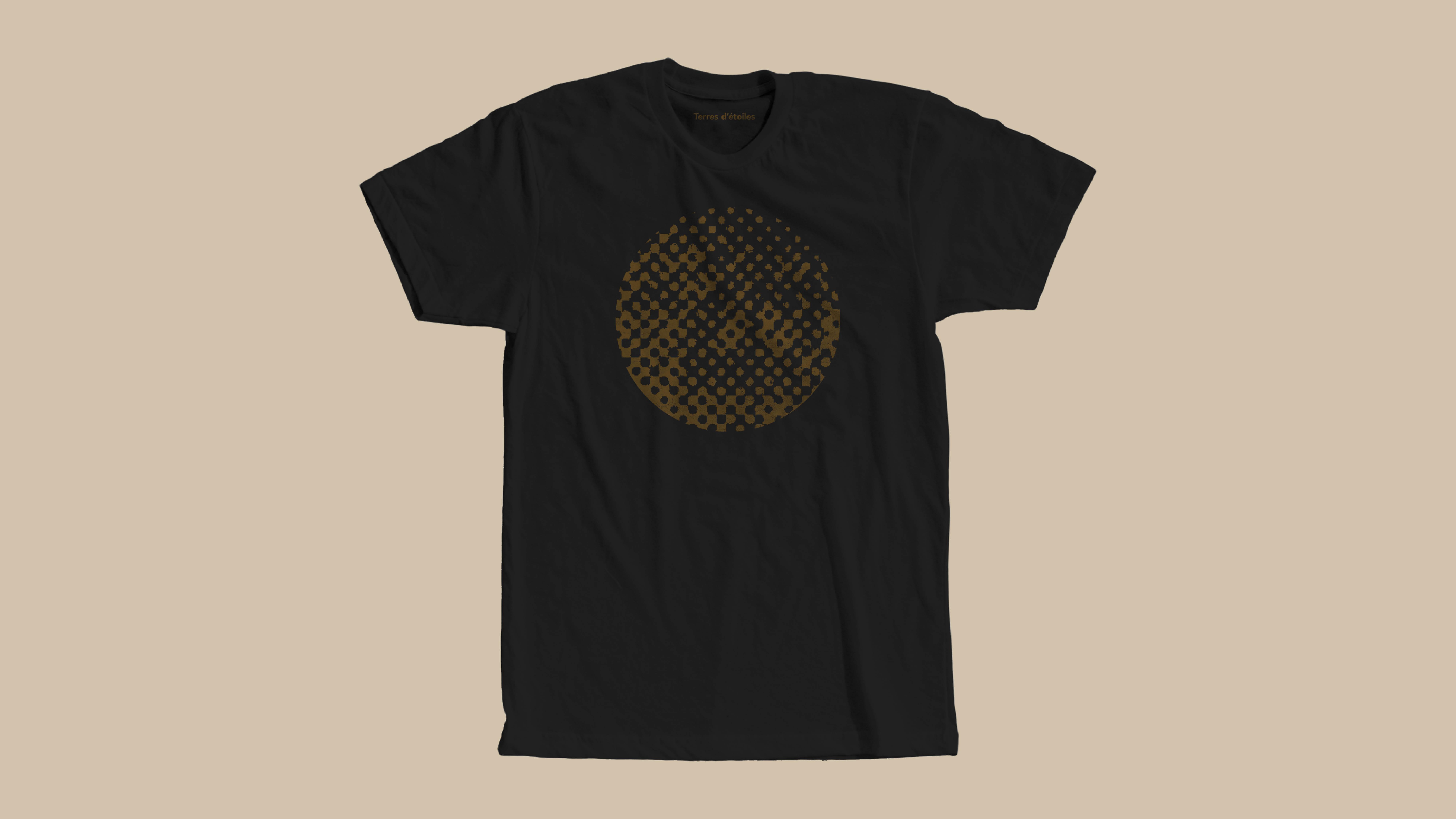 T-shirt Terres d'étoiles domaine Christophe Mittnacht